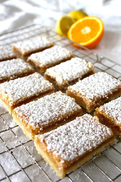 citrus squares...