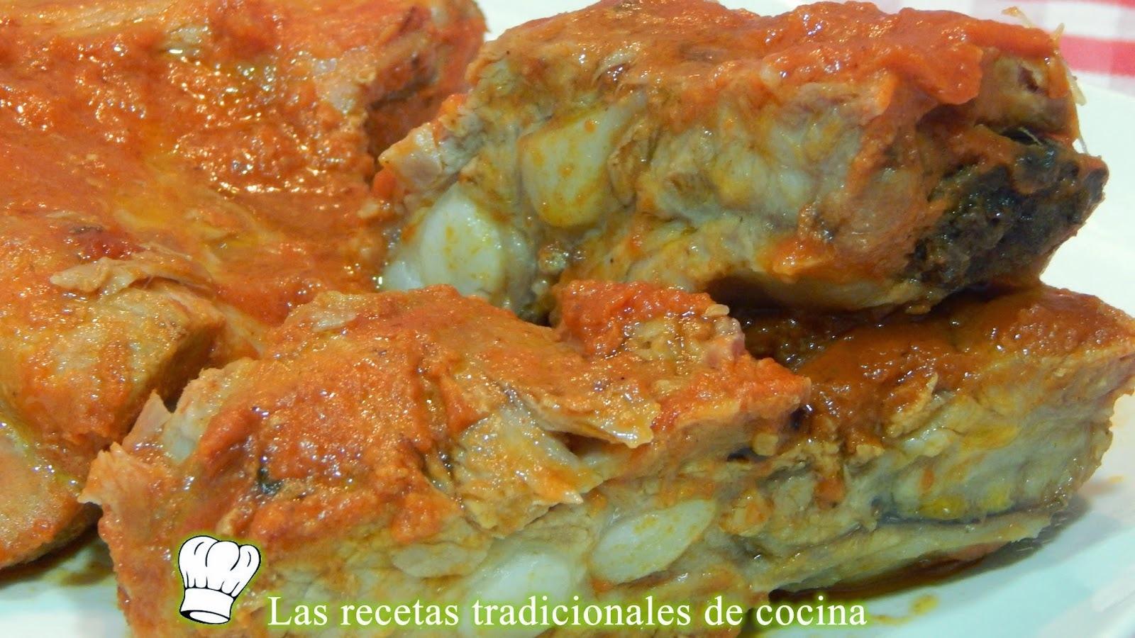 Receta de costillas al horno con salsa barbacoa