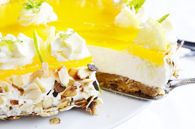 Citronova nepecena  torta