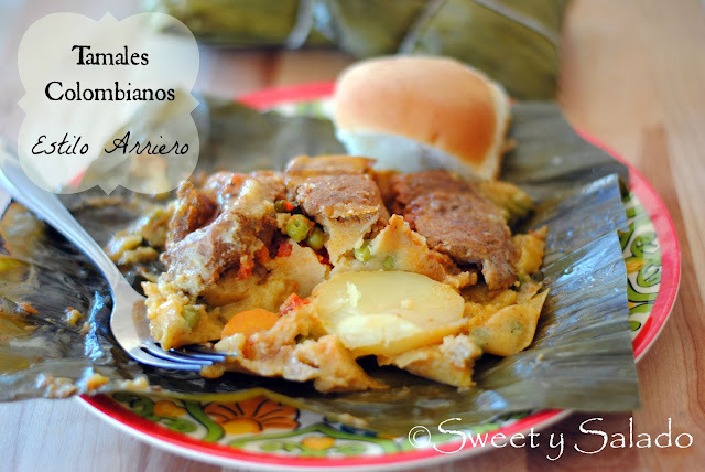 Tamales Colombianos (Estilo Arriero)