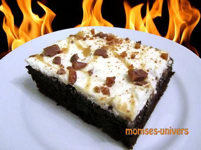Syndig chokoladekage med karamel