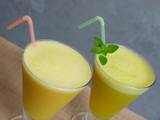 Drink: suco revitalizante e suco refrescante