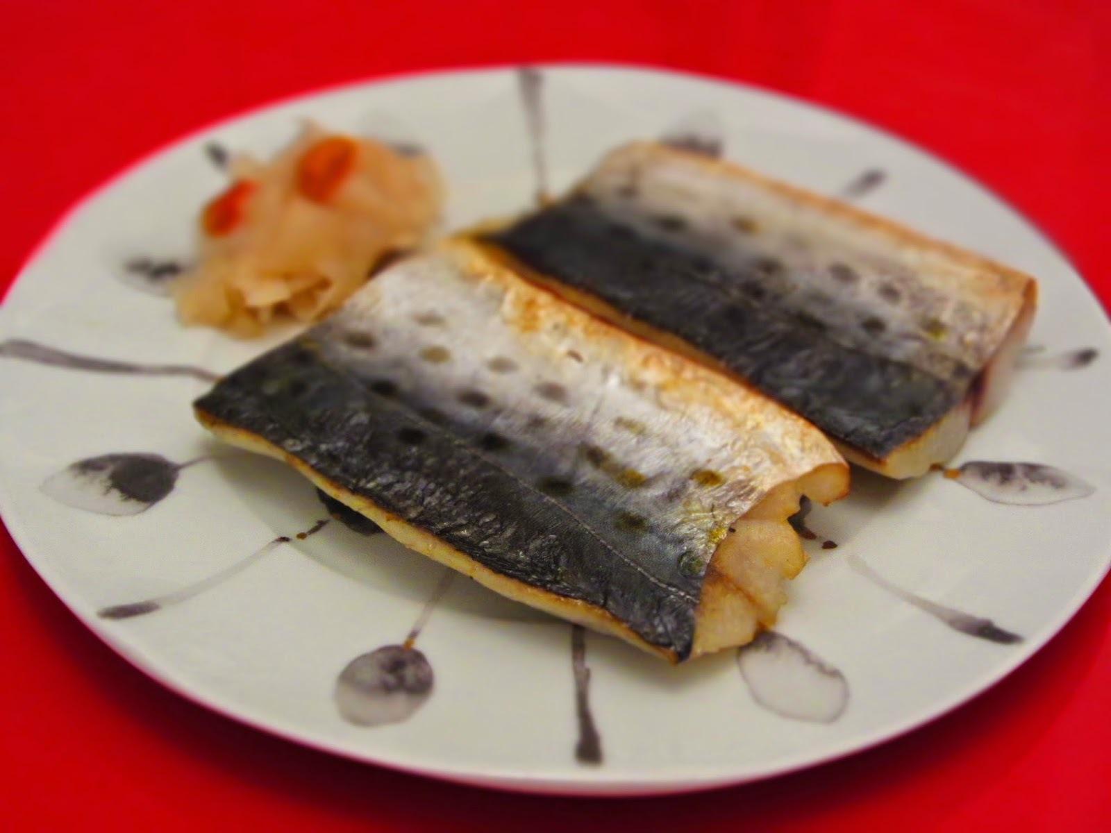趁著當季自製鯖魚一夜干