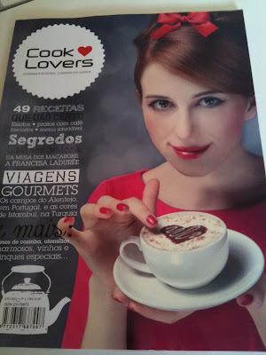 Bolo de Cenoura e Revista Cooklovers