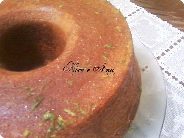 de bolo fofo de massa com fermento