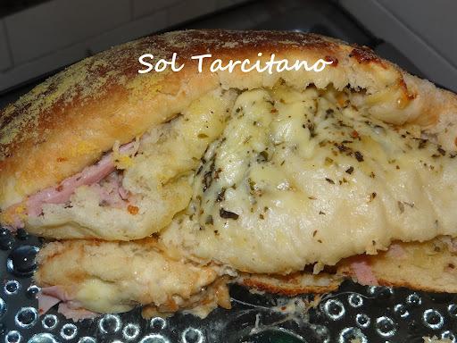 de pate de queijo mussarela e provolone