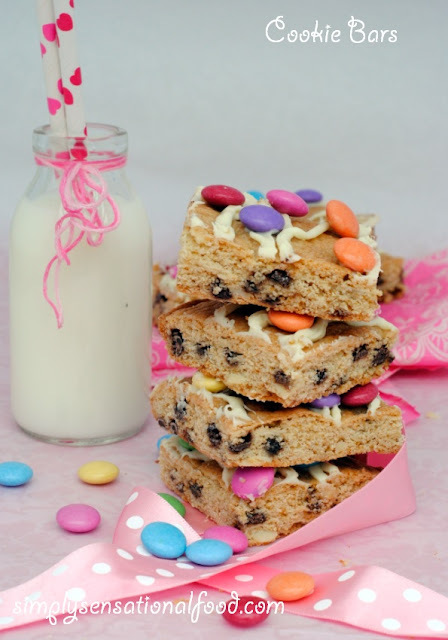 Cookie bars~Secret recipe club challenge 15th June