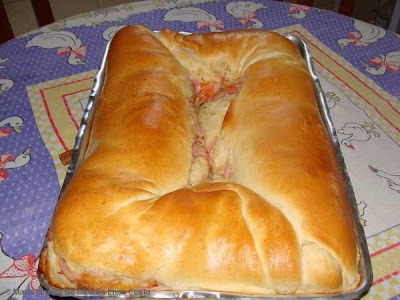 de pão recheado não precisa sovar