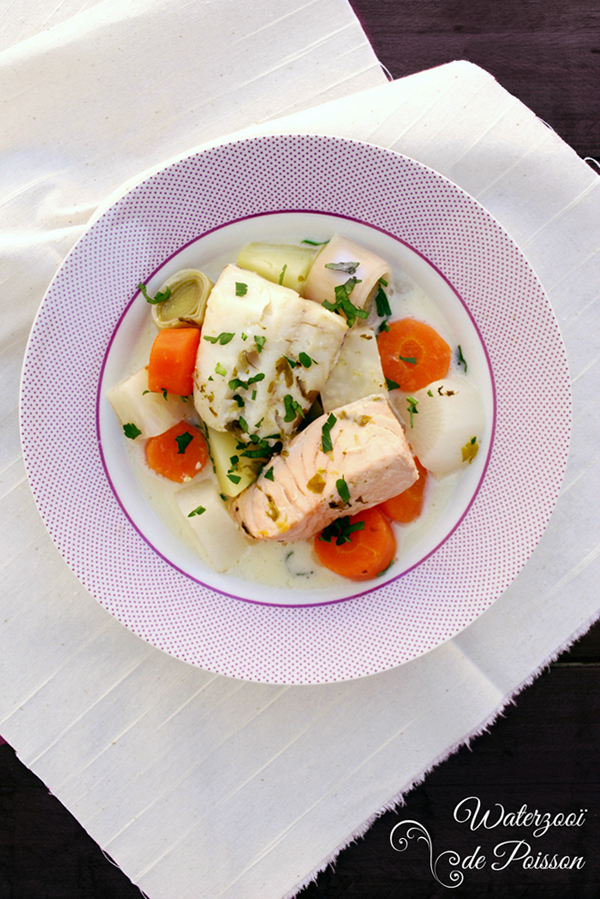 waterzooi de pescado #recetasdeflandes