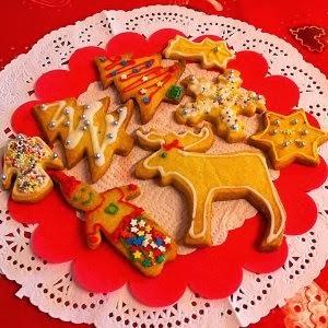 Galletas decoradas para la navidad