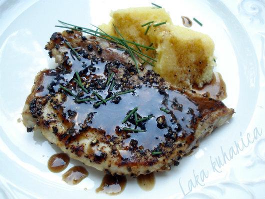 Glazirani kotleti :: Glazed pork chops