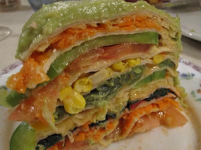Menú del día: Torta de panqueques