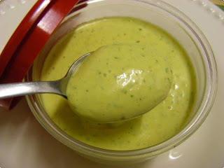 molho verde para sanduiche