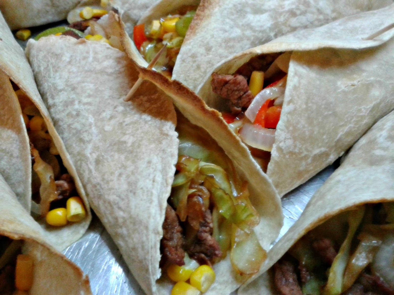 relleno de verduras para tacos