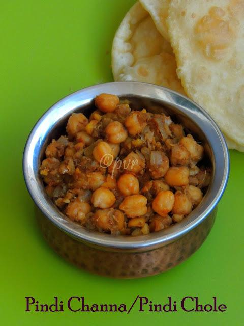 Pindi Channa/ Pindi Chole - Punjabi Special