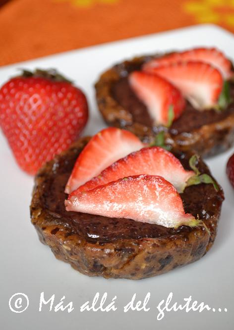 Tartaletas RAW de Arándanos y Mango (Receta SCD, GFCFSF, Vegana, RAW)