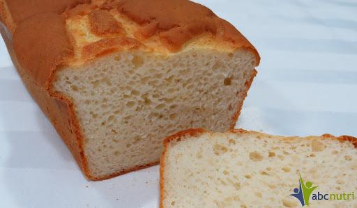 Pão de forma (sem glúten, sem lactose)