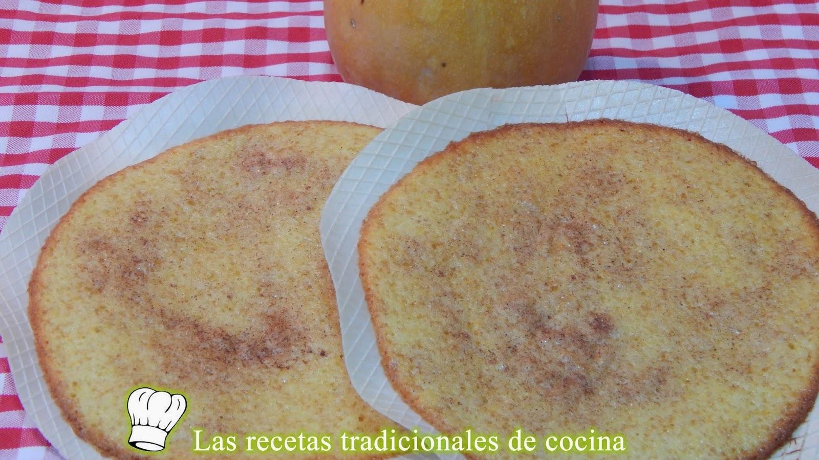 Tortas de calabaza o cocas de calabaza receta fácil