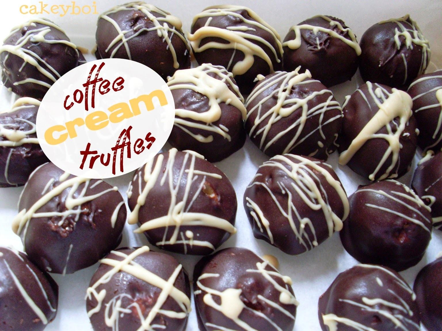 Coffee Cream Truffles