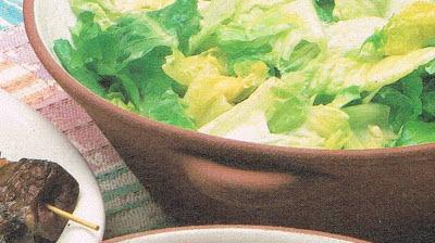 Green Salad with Mustard Glaze