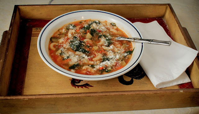 Easy Minestrone aka Sick Man Soup