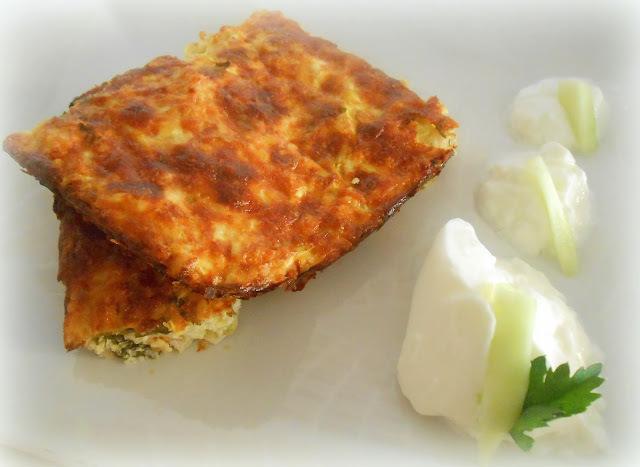 τραχανα...κοτο...κολοκυθόπιτα (frumenty pie with chicken and zucchini)