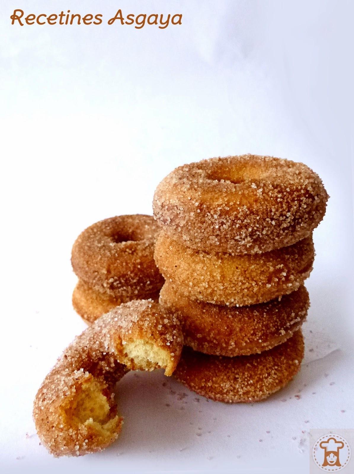 Mini Donuts de Sirope de Arce y Canela