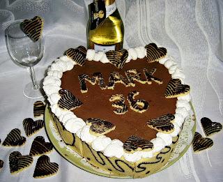 Fehércsokis narancsos trüffel torta