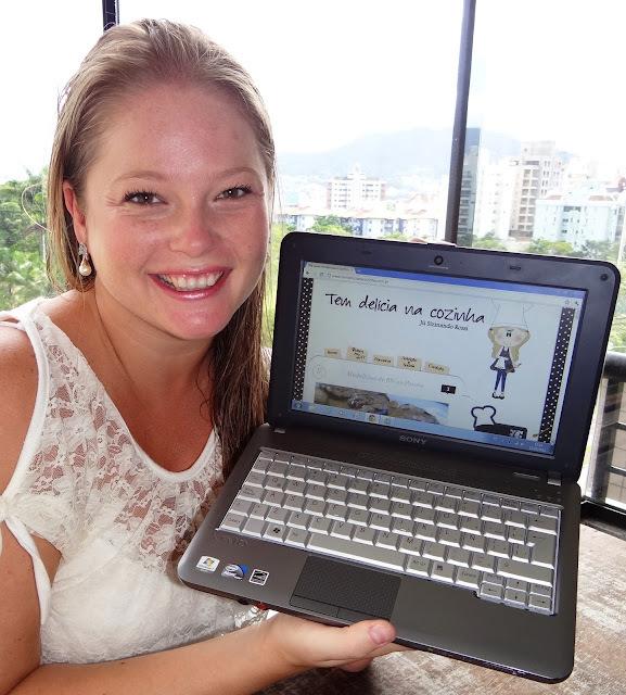 """Garfadas com a blogueira """"gourmet"""" Júlia Sizinando"""