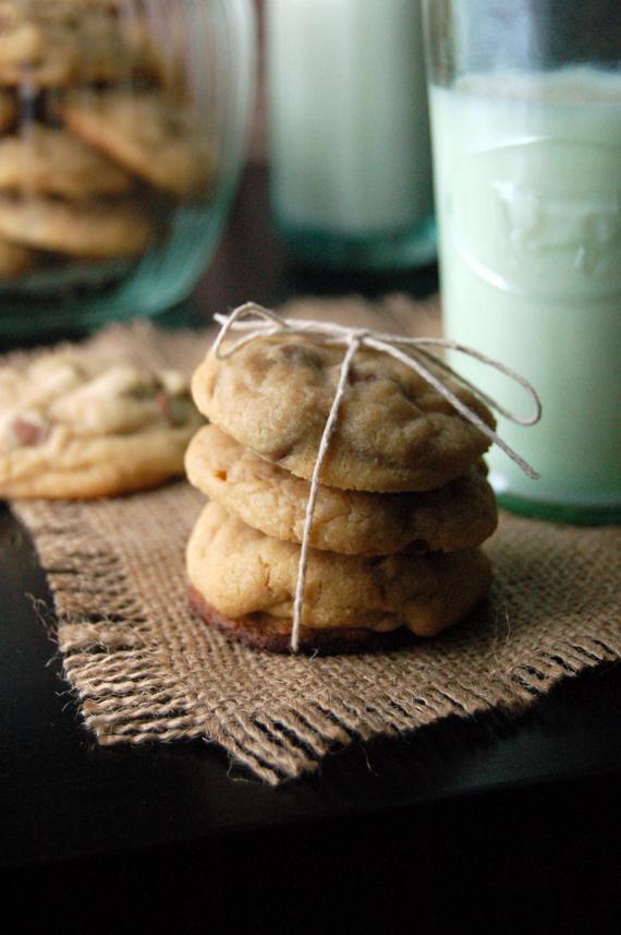 Biscuits moelleux, pépites de chocolat