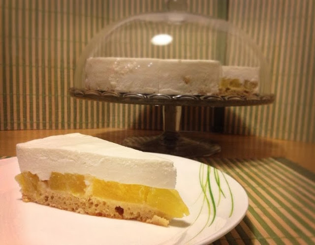 Ananásovo kokosová torta