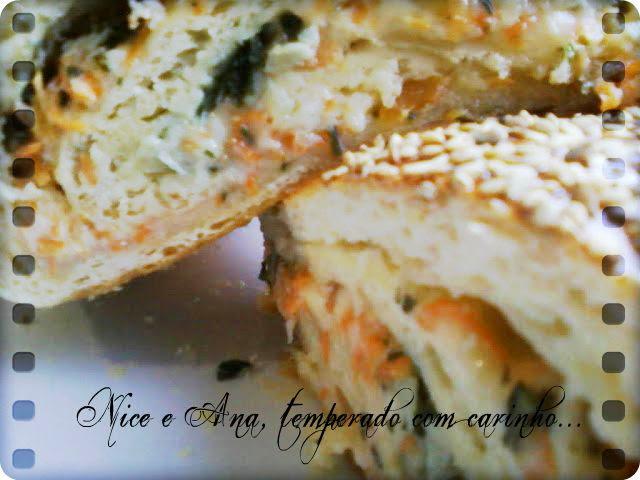 recheio de pão com alho tomate para churrasco
