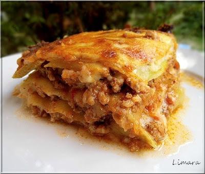 Cukkini lasagne