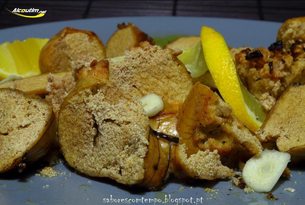 Ovas de robalo grelhadas, tarte de maçã… e os pequenos gestos