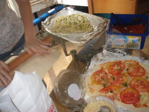 Hoje é dia de pizza!!!!