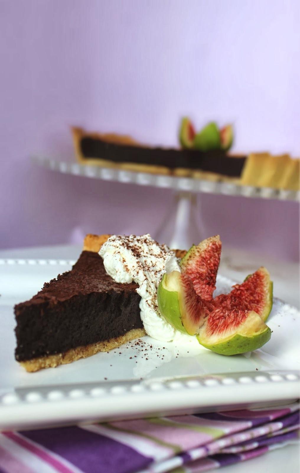 Čokoladni tart / Baked Chocolate Tart