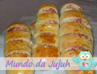 Pão Recheado  - Famoso Pão segura Marido #Quinta-Feira