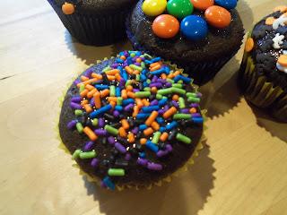 Primeira tentativa - Cupcake (ou bolinhos?!) para o Halloween