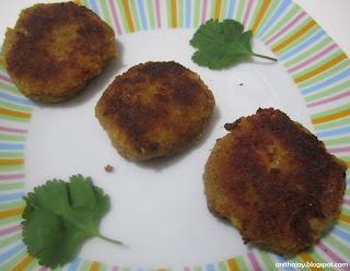 Soya Chunks Cutlet