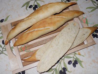 Panecillos baguette (1ª versión)