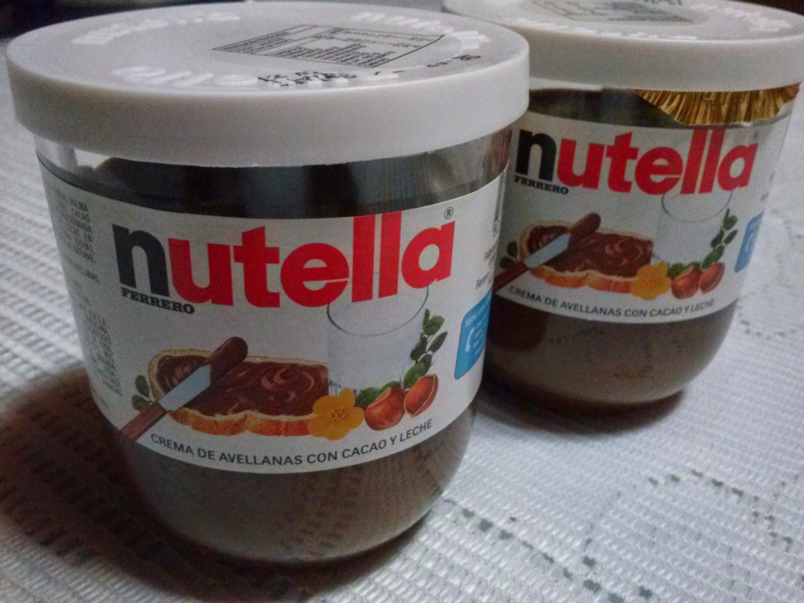 Cupcakes de chocolate y nutella
