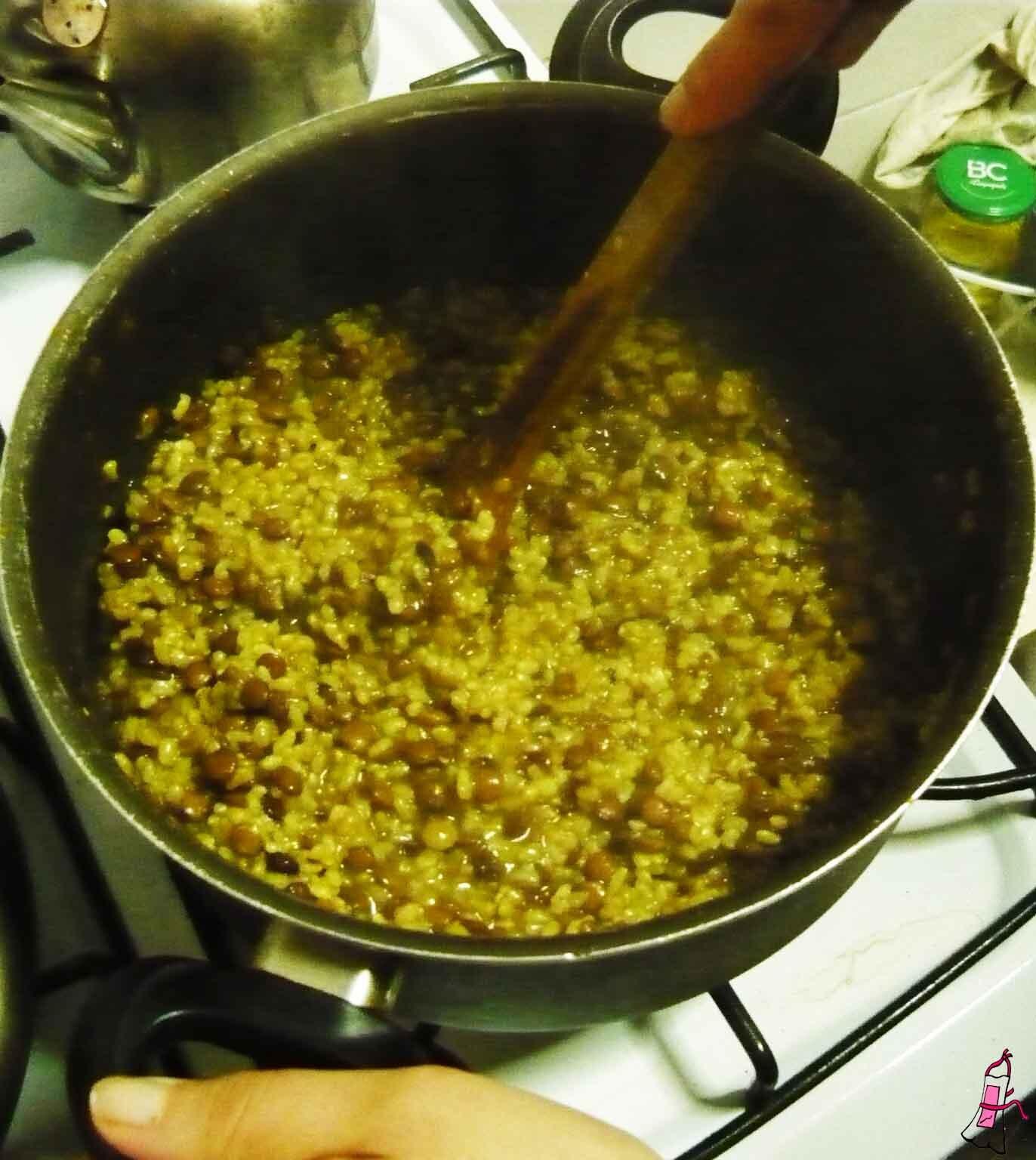 Rico y sano: Hamburguesas de arroz yamaní y lentejas