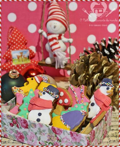 Biscoitos de especiarias para o natal