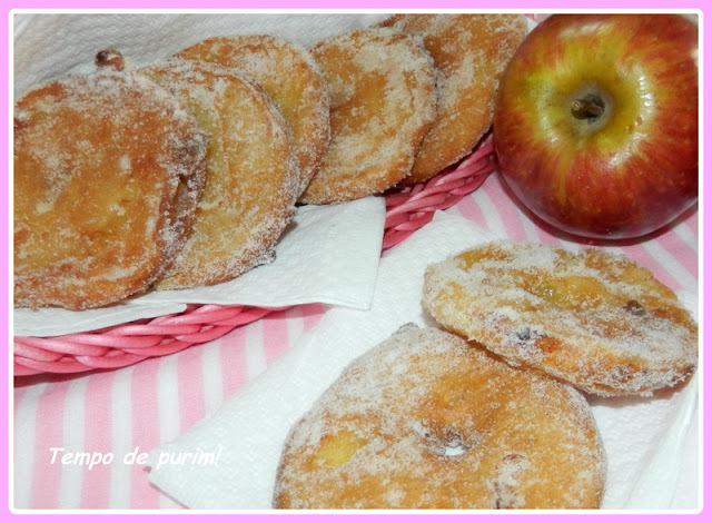 Bolinhos de maçã - Apple fritters