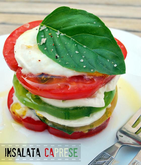 insalata caprese - de dos maneras - {#ponunaensalada}