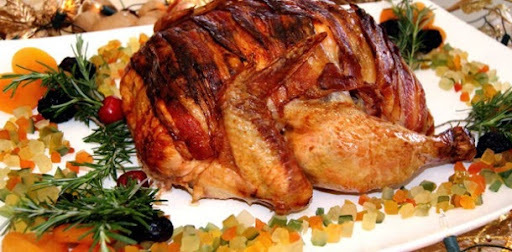 de marinada para frango inteiro para o natal