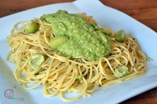 Salsa pesto de brócoli
