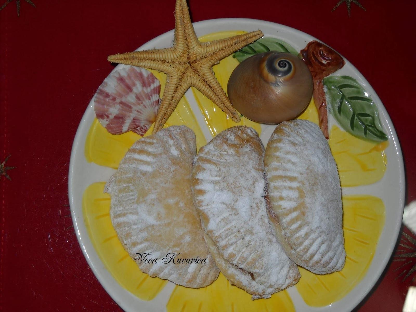 Školjke kolači i miris mora mmmm (usred zime :)