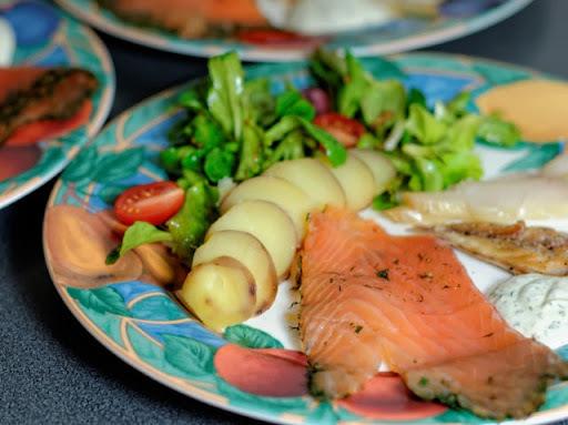 assiette nordique marmiton