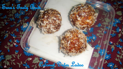 Coconut Dates Ladoo